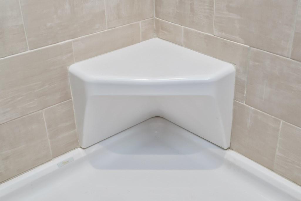 A Corner Shower Seat Installation San Diego Pro Handyman