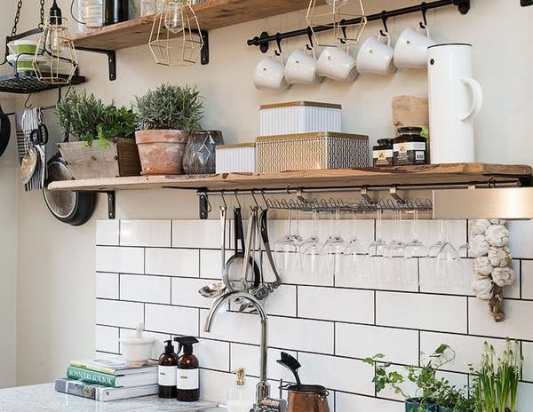 REPLACE YOUR CABINETS WITH OPEN KITCHEN SHELVING - San Diego ...