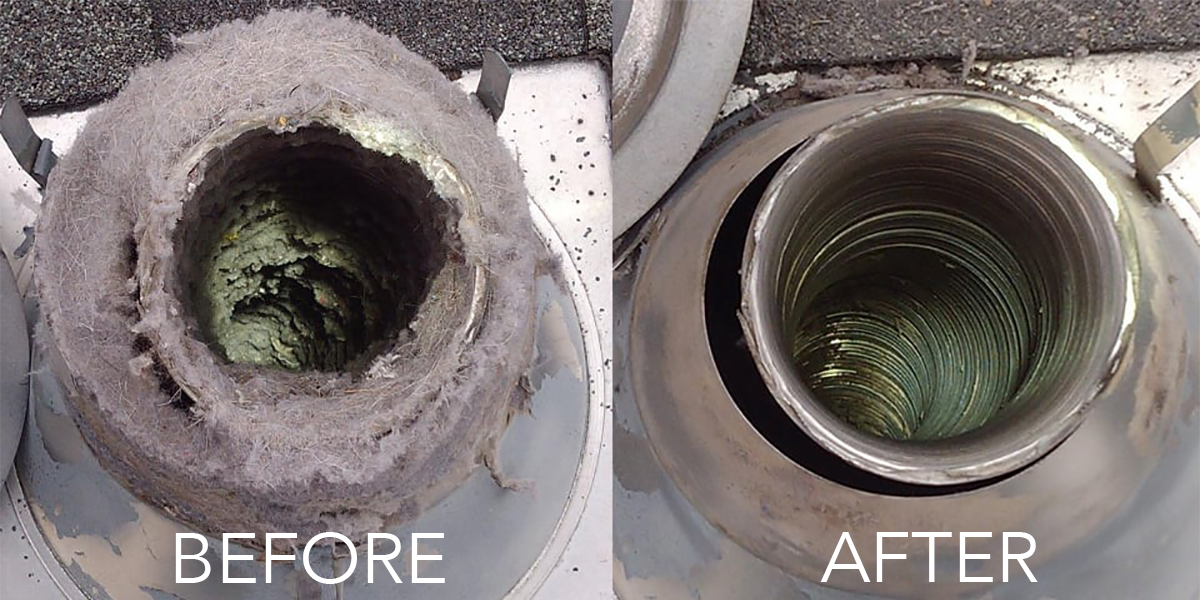 Dryer vent cleaning, repair and installation - San Diego Pro Handyman